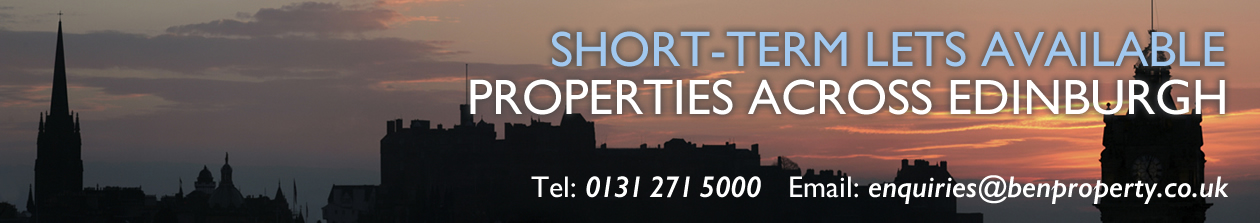 Short Term Lets in Edinburgh